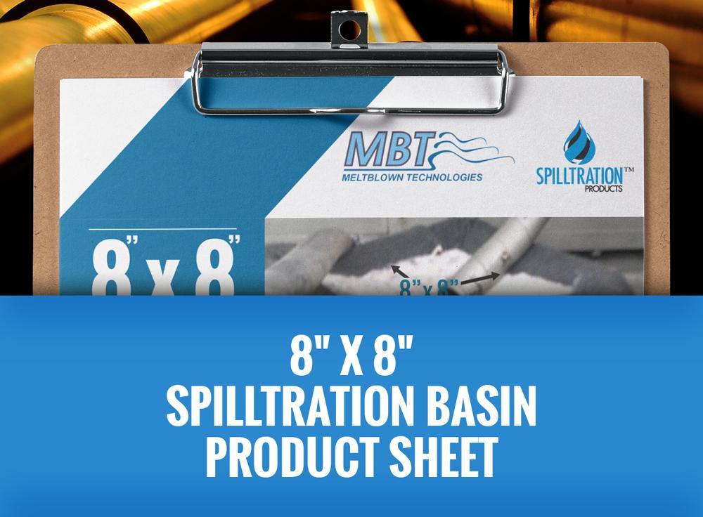 8 X 8 Spilltration Basin